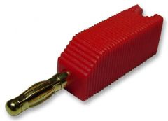 PRO SIGNAL PSG01941  4Mm Plug, Red, Stackable